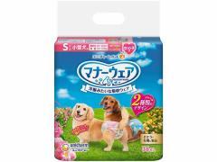 ユニチャーム/マナーウェア 女の子用 小型犬用Sサイズ 36枚