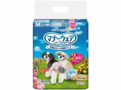 ユニチャーム/マナーウェア 女の子用 小型犬用Mサイズ 34枚