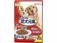 ユニチャーム/愛犬元気 ビーフ緑黄色野菜・小魚 6.0kg