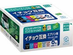 エコリカ/エプソン用リサイクルインクカートリッジITH-6CL