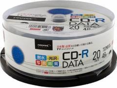 HIDISC/TYシリーズCD-Rデータ用 700MB 48倍速 20枚