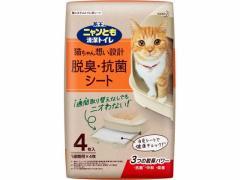 KAO/ニャンとも清潔トイレ 脱臭・抗菌シート 4枚