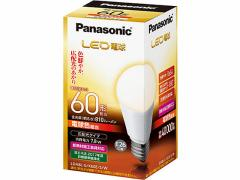 パナソニック/LED 一般電球 810lm 電球色/LDA8LGK60ESW