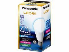 パナソニック/LED 一般電球 485lm 昼光色/LDA4DGK40ESW