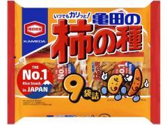 亀田製菓/亀田の柿の種 9袋詰