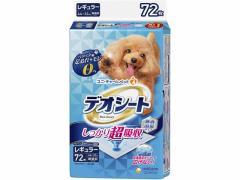 ユニ・チャーム/デオシートしっかり超吸収無香消臭 レギュラー72枚
