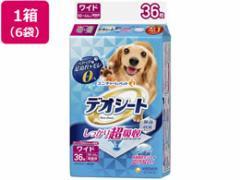 ユニ・チャーム/デオシートしっかり超吸収無香消臭 ワイド36枚×6袋
