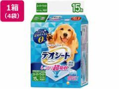ユニ・チャーム/デオシートしっかり超吸収消臭 スーパーワイド15枚*4袋