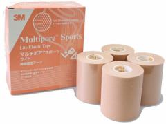 3M/キネシオロジー テーピング マルチポアスポーツ ライト 75mm×5m 4巻