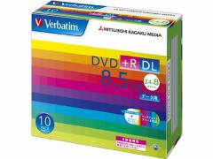 バーベイタム/DVD+R DL 8.5GB データー用 8倍速 10枚
