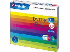 バーベイタム/DVD-R DL 8.5GB データー用 8倍速 5枚