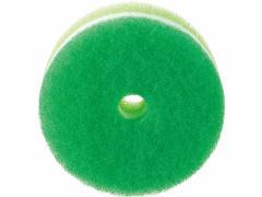 マーナ/POCO キッチンスポンジ リフィル 吸盤ナシ ディープグリーン/K095DG