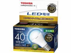 東芝ライテック/LED電球 ミニクリプトン形  440lm 昼白色