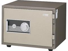 ライオン/快速ダイヤル式耐火金庫 19L 警報装置付/MS-2BN
