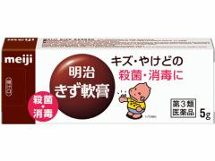 【第3類医薬品】薬)明治/明治 きず軟膏 5g