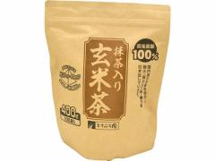 ますぶち園/オキロン三角ティーバッグ 抹茶入り玄米茶 100P