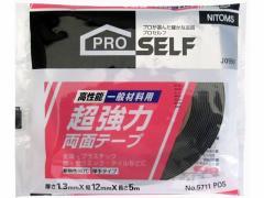 ニトムズ/超強力両面テープ 一般材料用12×5 NO.5711/J0960