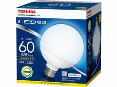 東芝/LED ボール電球形 730lm 昼白色/LDG7N-G/60W