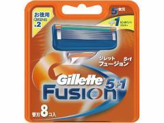 P&G/ジレット フュージョン5+1 替刃8個