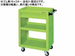 サカエ/ニューCSスーパーワゴン 引出付 グリーン/CSWA-758CP