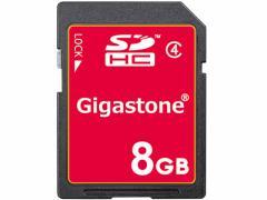Gigastone/SDHCカード 8GB class4/GJS4/8G