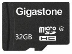 Gigastone/microSDHCカード 32GB class4/GJM4/32G