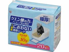 アイリスオーヤマ/猫トイレ用1週間におわない消臭シート20枚/TIH-20C