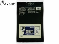 ジャパックス/業務用ポリ袋 45L 黒 0.05mm 10枚×30冊/PL42