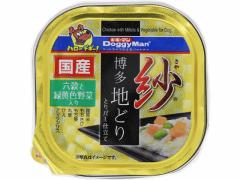 ドギーマンハヤシ/紗 博多地どり 六穀と緑黄色野菜入り 100g