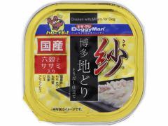 ドギーマンハヤシ/紗 博多地どり 六穀とササミ入り 100g