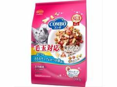 日本ペット/コンボ毛玉対応マグロ味・ササミチップ・カツオブシ添700g