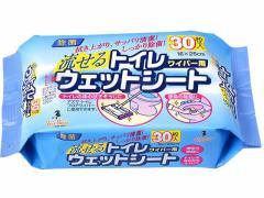 アズマ工業/流せるトイレ用ウェットシート 30枚/SQ058
