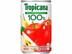 キリンビバレッジ/トロピカーナ100%ジュースアップル 160g缶