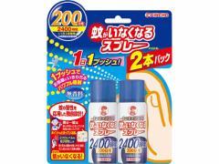 金鳥/蚊がいなくなるスプレー 200日 無香料 2本パック