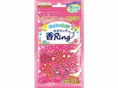 大日本除虫菊/虫よけカオリング ピンクN 30個入り