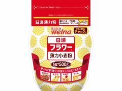 日清フーズ/日清フラワー(薄力小麦粉) チャック付 500g