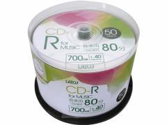 Lazos/音楽用 CD-R 50枚スピンドル/L-MCD50P