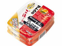 サトウ食品/サトウのごはん 魚沼産こしひかり200g 3食P