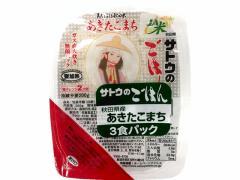 サトウ食品/サトウのごはん 秋田県産あきたこまち200g 3食P