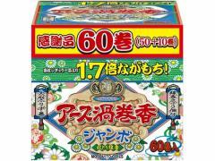 アース製薬/アース渦巻香 ジャンボ 60巻 函入