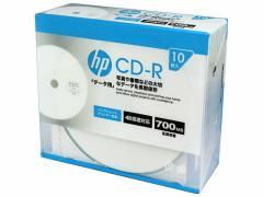 HP/CDR80CHPW10A/データ用CD-R 10枚スリムケース