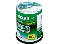 マクセル/データ用DVD-R 100枚スピンドル/DR47WPD.100SP A