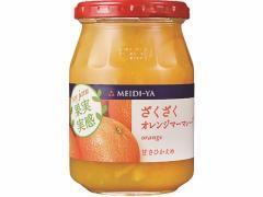 明治屋/果実実感ざくざくオレンジマーマレード 340g