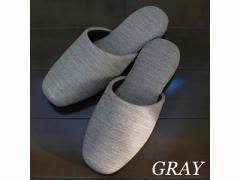 ストロング/生地の様なビニールスリッパ M GRAY/10-5-155-05