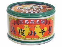 ヤマトフーズ/鳥皮みそ煮 130g