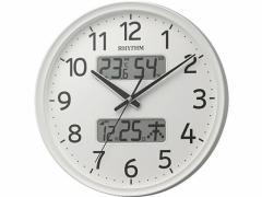 リズム/壁掛け電波時計 フィットウエーブリブA03/8FYA03SR03