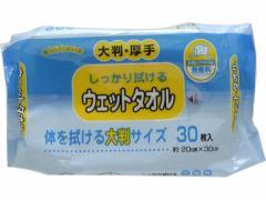 カナッペ/ウェットタオル 大判厚手タイプ 30枚/KN-102