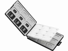 エレコム/メモリカードケース SD18枚+microSD18枚/CMC-SDCPP36BK