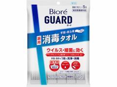 KAO/ビオレガード 薬用消毒タオル 5包