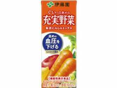 伊藤園/充実野菜朱衣にんじんミックス 200ml